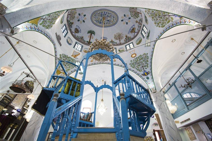 Abuhav Synagoge in Safed