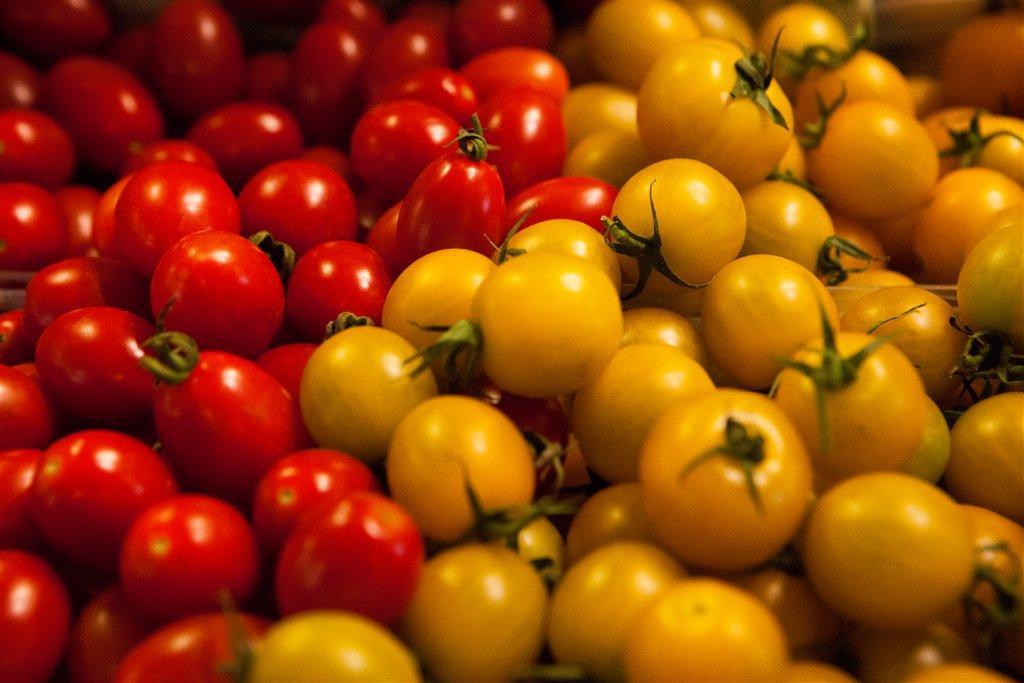 Cherrytomaten aus israelischer Ernte